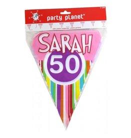 Party Planet Vlaggenlijn Sarah