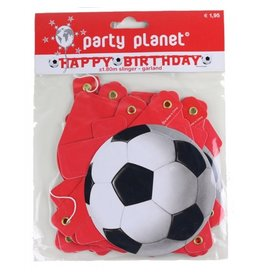 Party Planet Slinger happy birthday voetbal