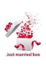 White label Just Married Box - het originele huwelijkscadeau