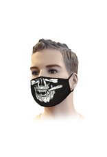 Mundmaske Streetwear Skull / Joint Design | Mund-Nasen-Maske | Mundmaske
