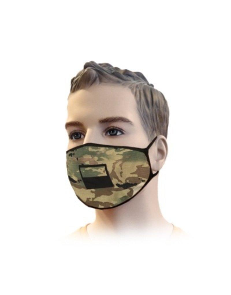 Mundmaske Streetwear Camouflage Design | Mund-Nasen-Maske | Mundmaske