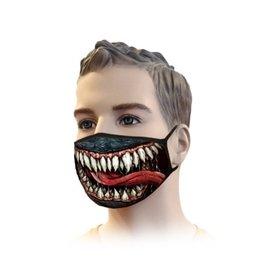 Mundmaske Streetwear Venom Design | Mund-Nasen-Maske | Mundmaske