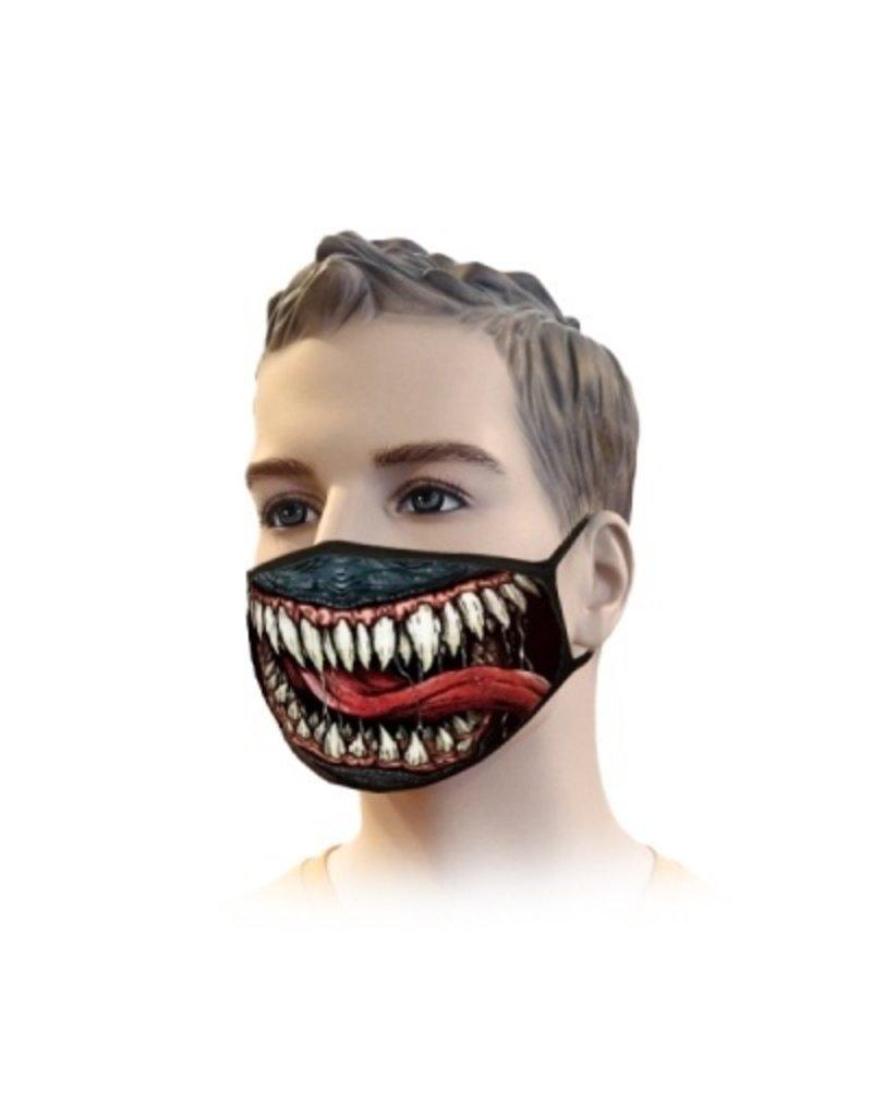 Mondkapje Streetwear Venom Design | Mond Neus Masker | Mondmasker