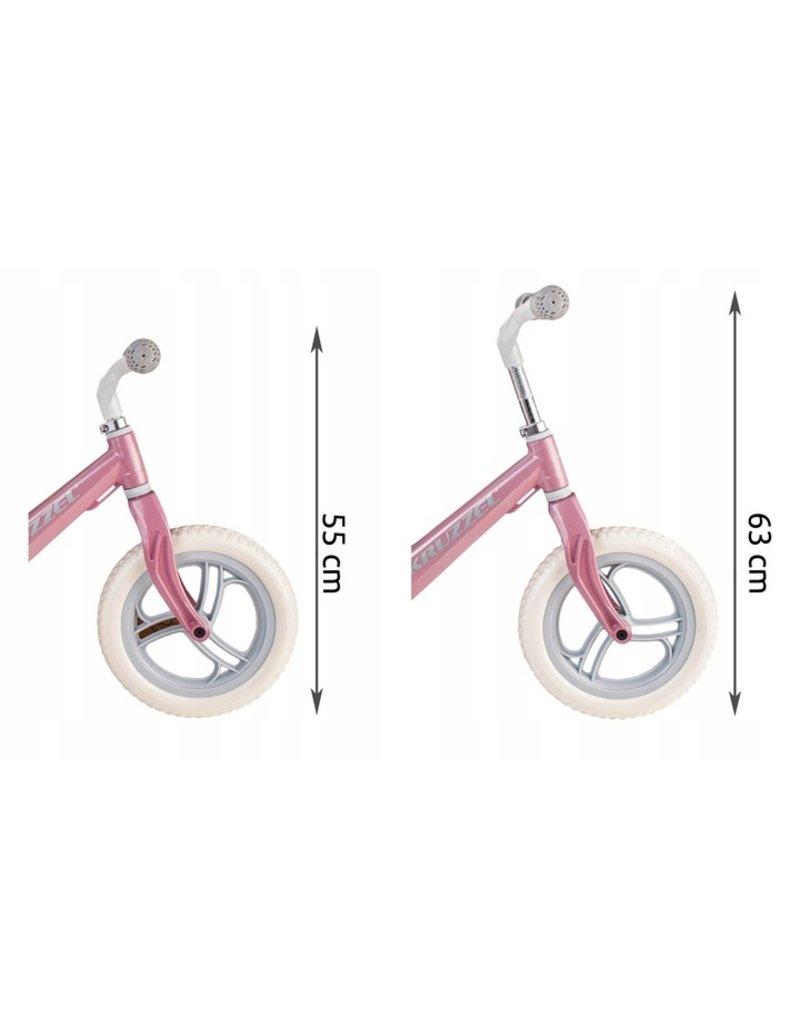 Vintage Style Balance Bike Pink - Leichtes Retro-Design