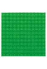 Große Grundplatte Bauplatte für Lego Bausteine Grün 32 x 32