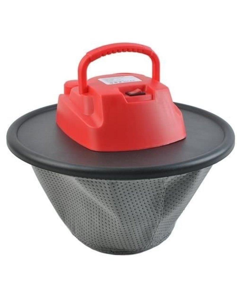 Multifunktionaler Ofenasche-Staubsauger - Pelletofen-Staubsauger - Kaminaschenkolben - ohne Beutel -   10 l - 800 Watt