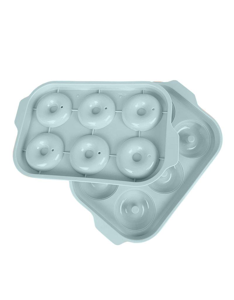 Donuts ijsblokjes ijsklontjes vorm