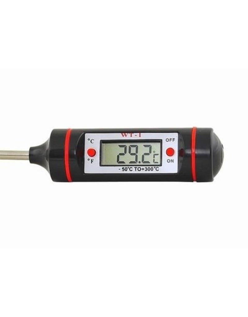 Digitales Küchenthermometer - inklusive Batterie und Aufbewahrungsbox