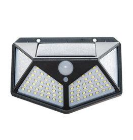 Solar Sensor Light - Außenlampe mit Bewegungssensor - 100 LEDs - Weißes Licht