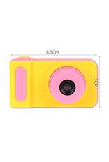 Kinder Digitalkamera 3MP / Videokamera 1080P - Lanyard - Rosa