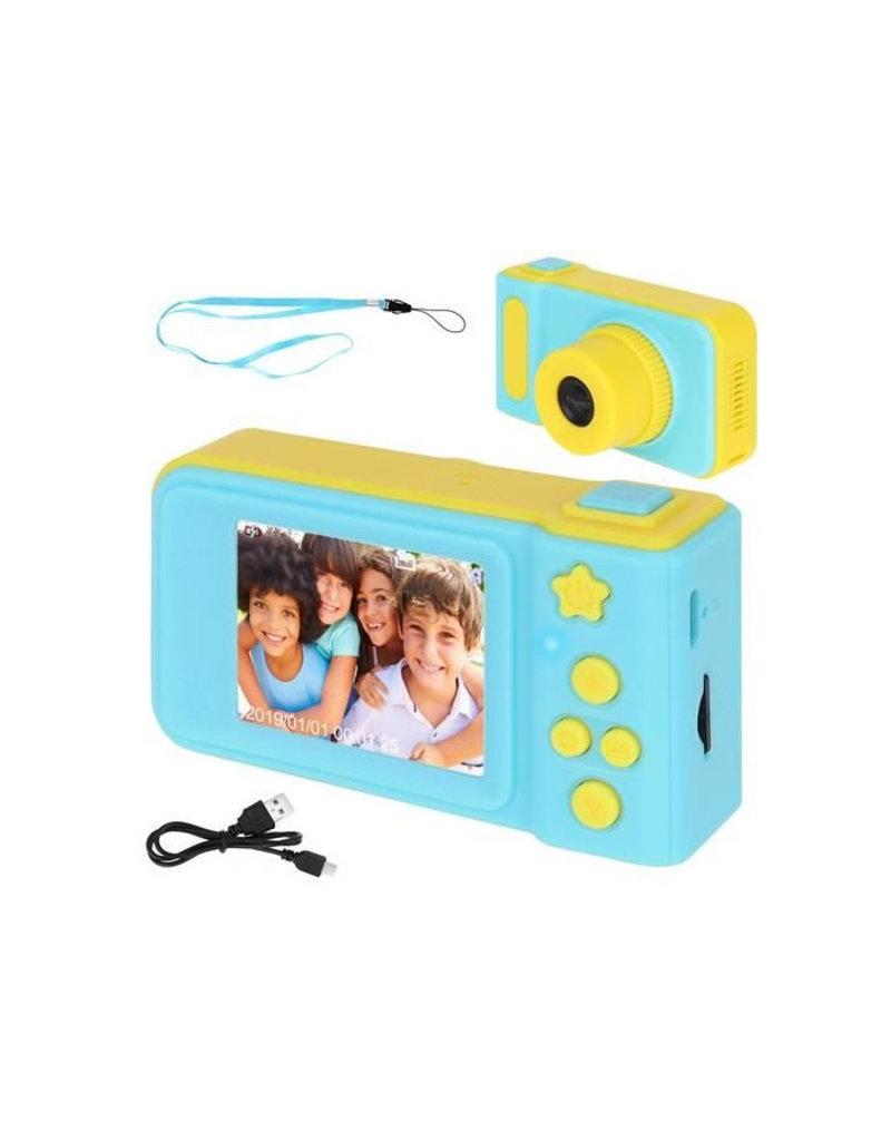 Kinder Digitalkamera 3MP / Videokamera 1080P - Lanyard - Blau