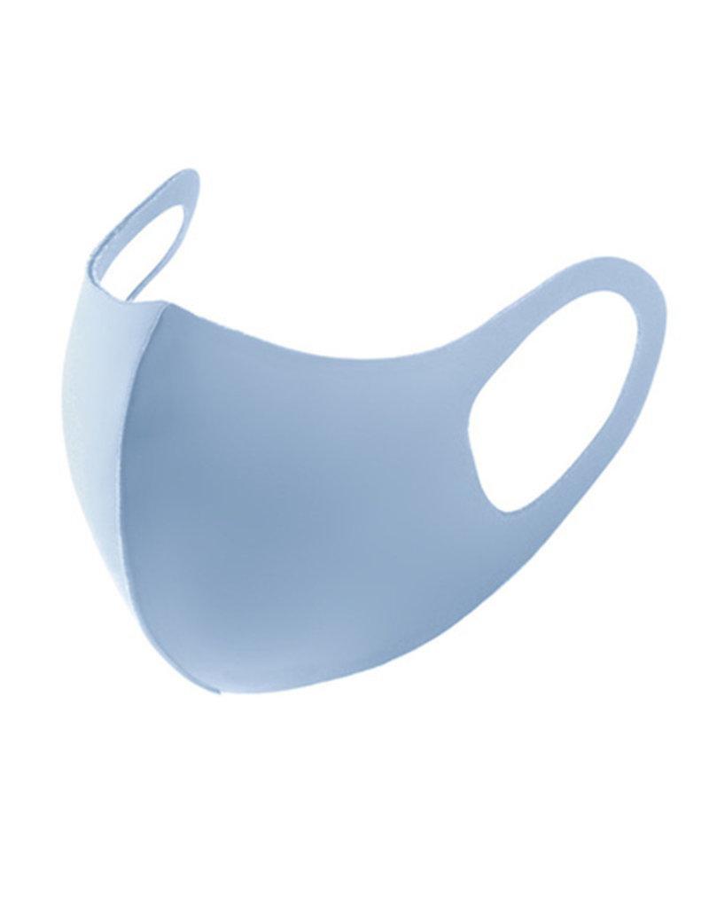 Mondkapje Fashion Ice Silk Cotton Blauw   Mond Neus Masker   Mondmasker
