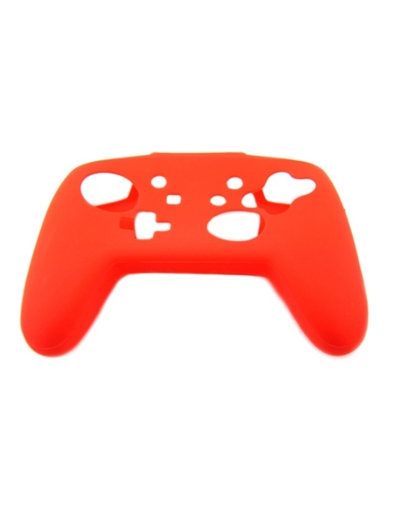 Silicone Beschermhoes Skin voor Nintendo Switch Pro Controller - Rood