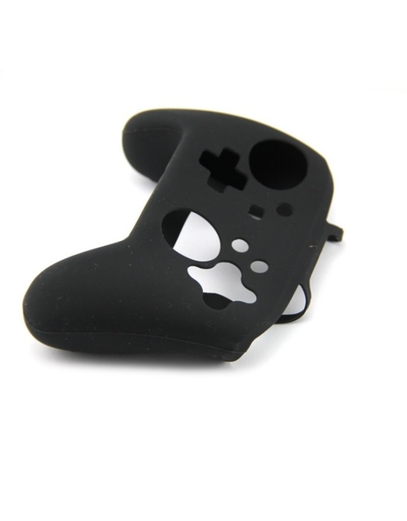 Silicone Beschermhoes Skin voor Nintendo Switch Pro Controller - Zwart