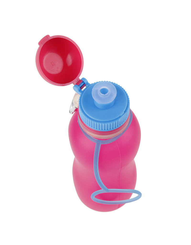 Viv Bottle 3.0 - Opvouwbare Siliconen Fles / Bidon - Roze