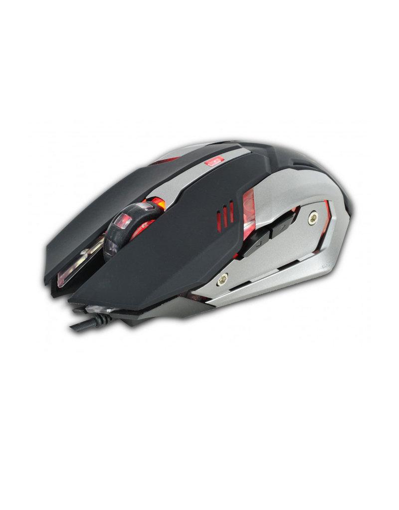 LED-Gaming-Set LED-Tastatur und LED-Maus - mit Kabel