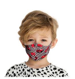 Mondkapje Kids met Zilverionen - Cars | Mond Neus Masker | Mondmasker