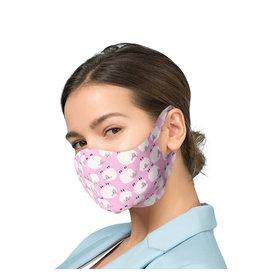 Mundmaske mit Silberionen - Schafen| Mund-Nasen-Maske | Mundmaske