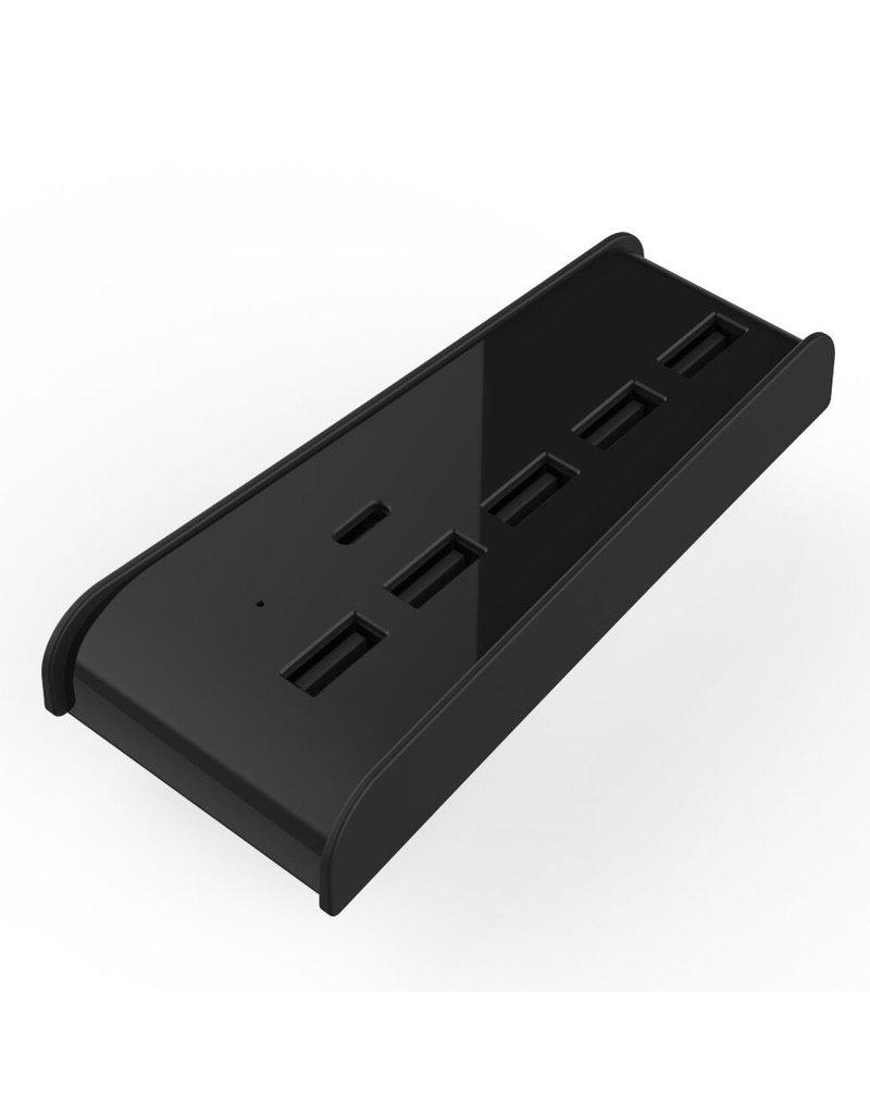 5 Poort USB HUB High Speed USB Splitter voor PS5 Game Console