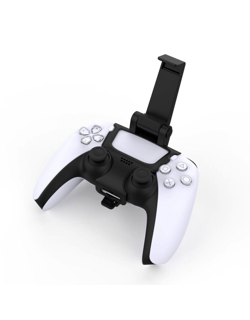 Smartphone Houder Klem Mount voor PS5 controller - 180 graden Verstelbaar