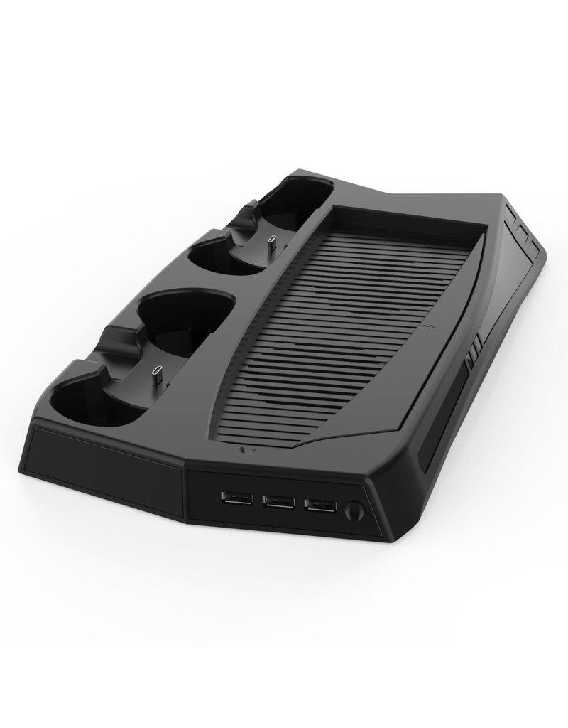 Dual Charging Dock Stand - Koelventilator -USB Hub voor PS5 gameconsoles