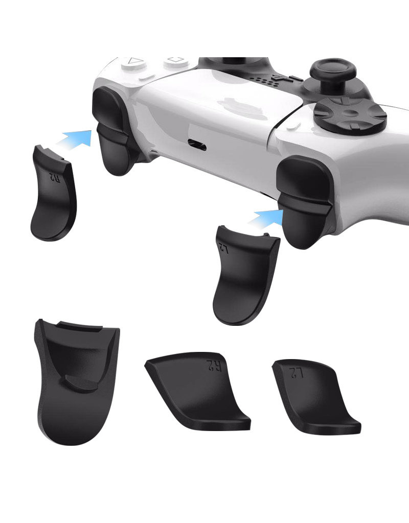 L2 R2 Trigger Extenders voor de PS5 DualSense Controller