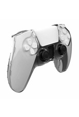 Crystal Case Hard Shell Cover voor PS5 DualSense Controller - Transparant