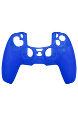 Silicone Case Cover Skin voor PS5 DualSense Controller - Blauw
