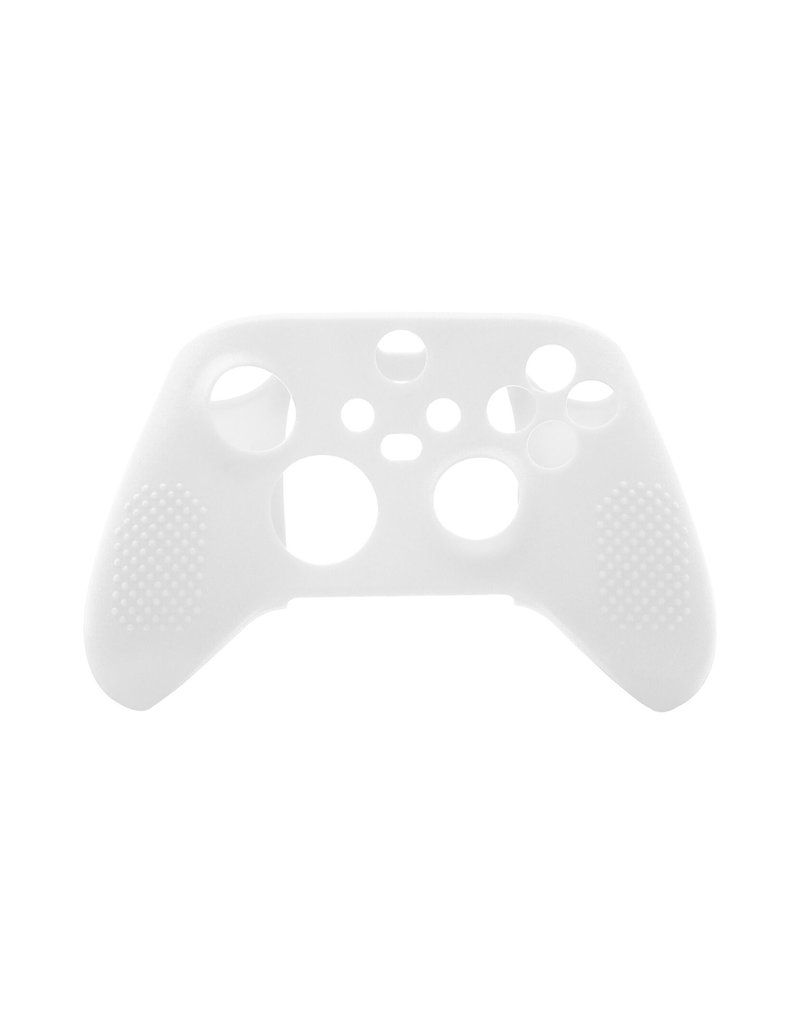Silicone Case Cover Skin voor Xbox Series X / S Controller - Wit
