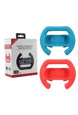 Nintendo Switch - Joy-con Racestuur Set - Rood & Blauw