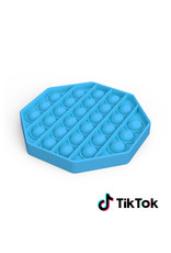 Pop it Fidget Toy - Bekannt von TikTok - Hexagon - Blau