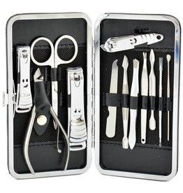 Luxus-Maniküre-Set in einem 12-teiligen Etui - Körperpflege - Maniküre-Sets Nagelpflege - Reiseset