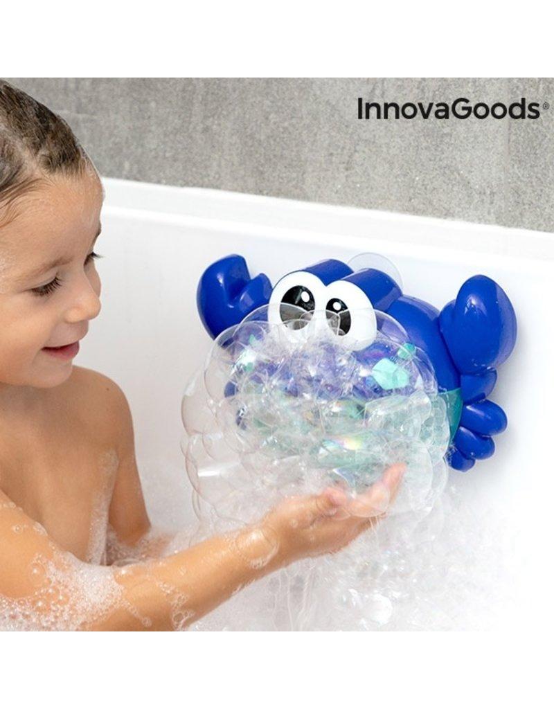 Badespielzeug - Musikkrabbe mit Musik und Seifenblasen
