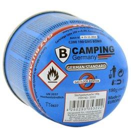 Gasdose | Gasdose | Camping Gasfüllung | Gaskartusche | Butangas | 190 g