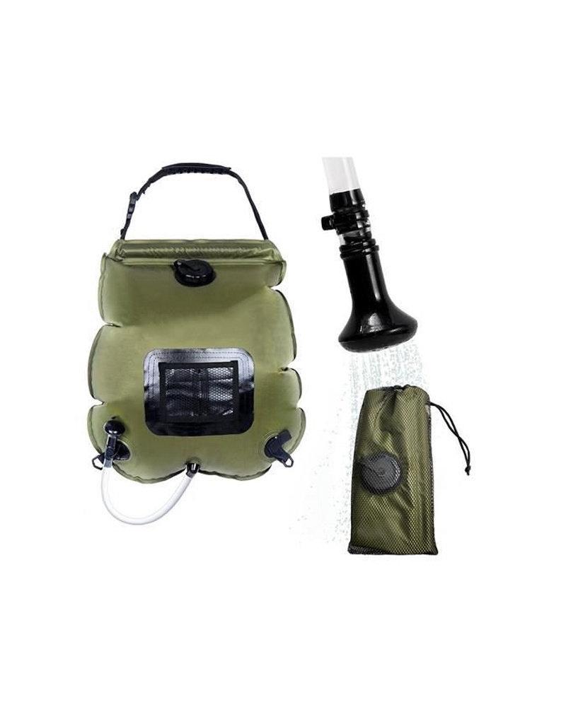 Camping Douche Op Zonne-Energie - Zonnedouche - 20 Liter - Met Temperatuurindicator