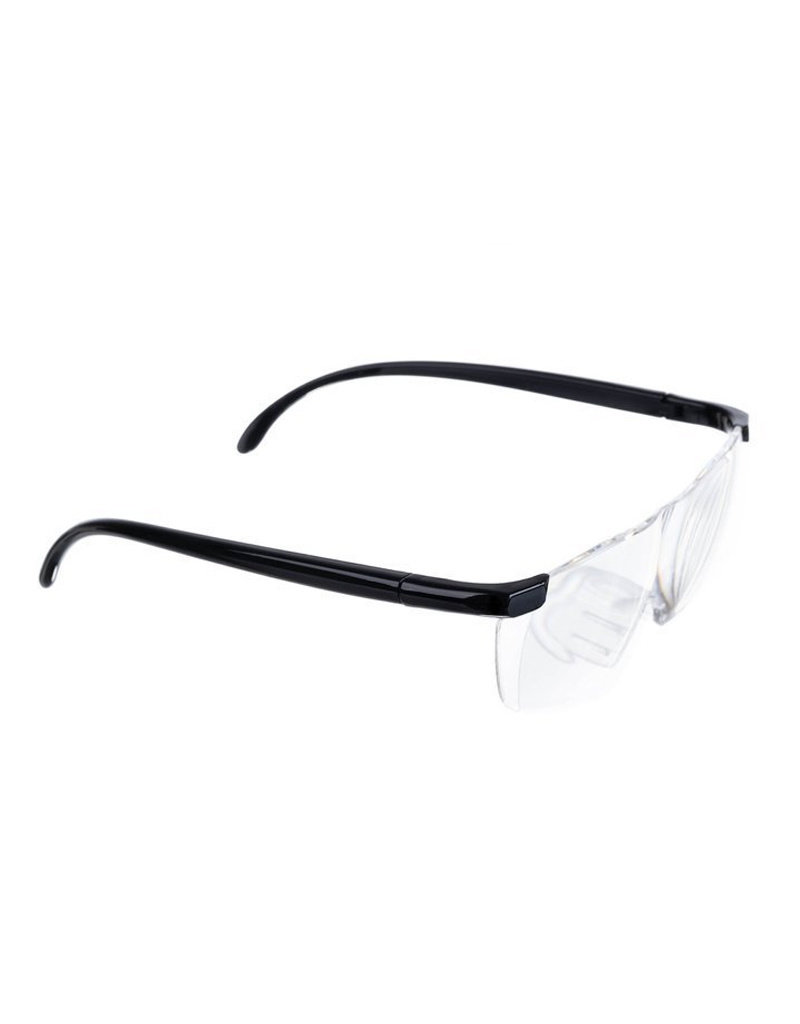 Lupen 160% Zoom - Extrem klares Glas für perfekte Sicht - Brille mit Lupenfunktion
