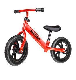 Tough Balance Bike Rot - Leicht - Schwarz EVA Foam Reifen