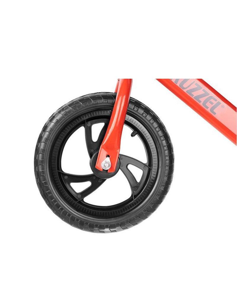 Stoere Loopfiets Rood - Lichtgewicht - Zwarte EVA Foam banden