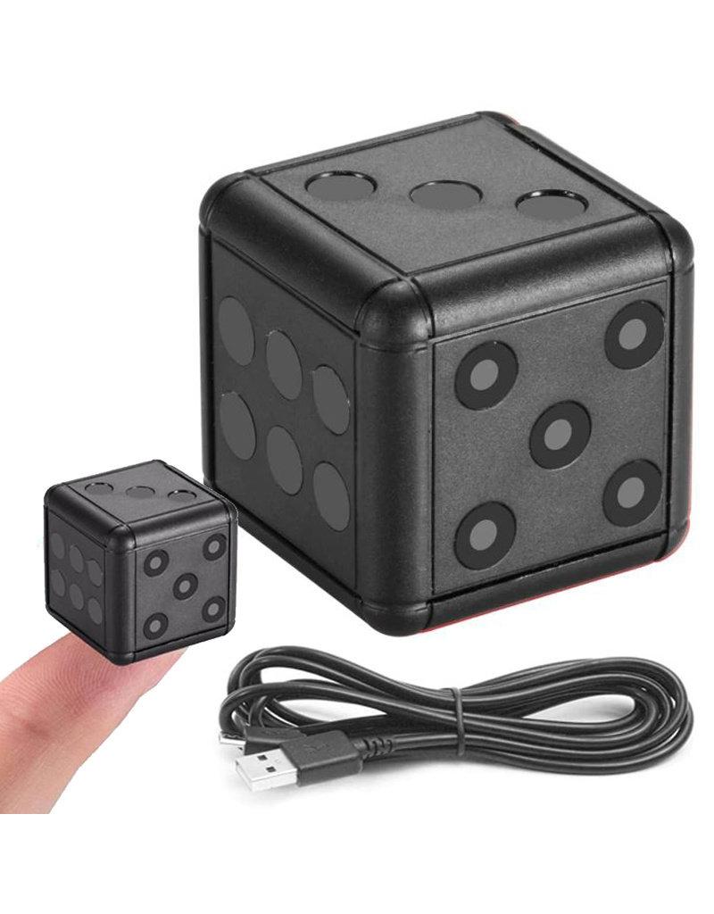 Mini Spy Cam Full HD 1080P DV Action Camera Dashcam Dobbelsteen