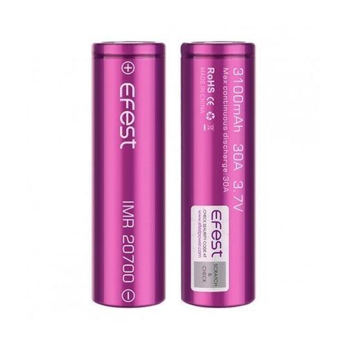 Efest 20700 Battery 3100MAH 30A