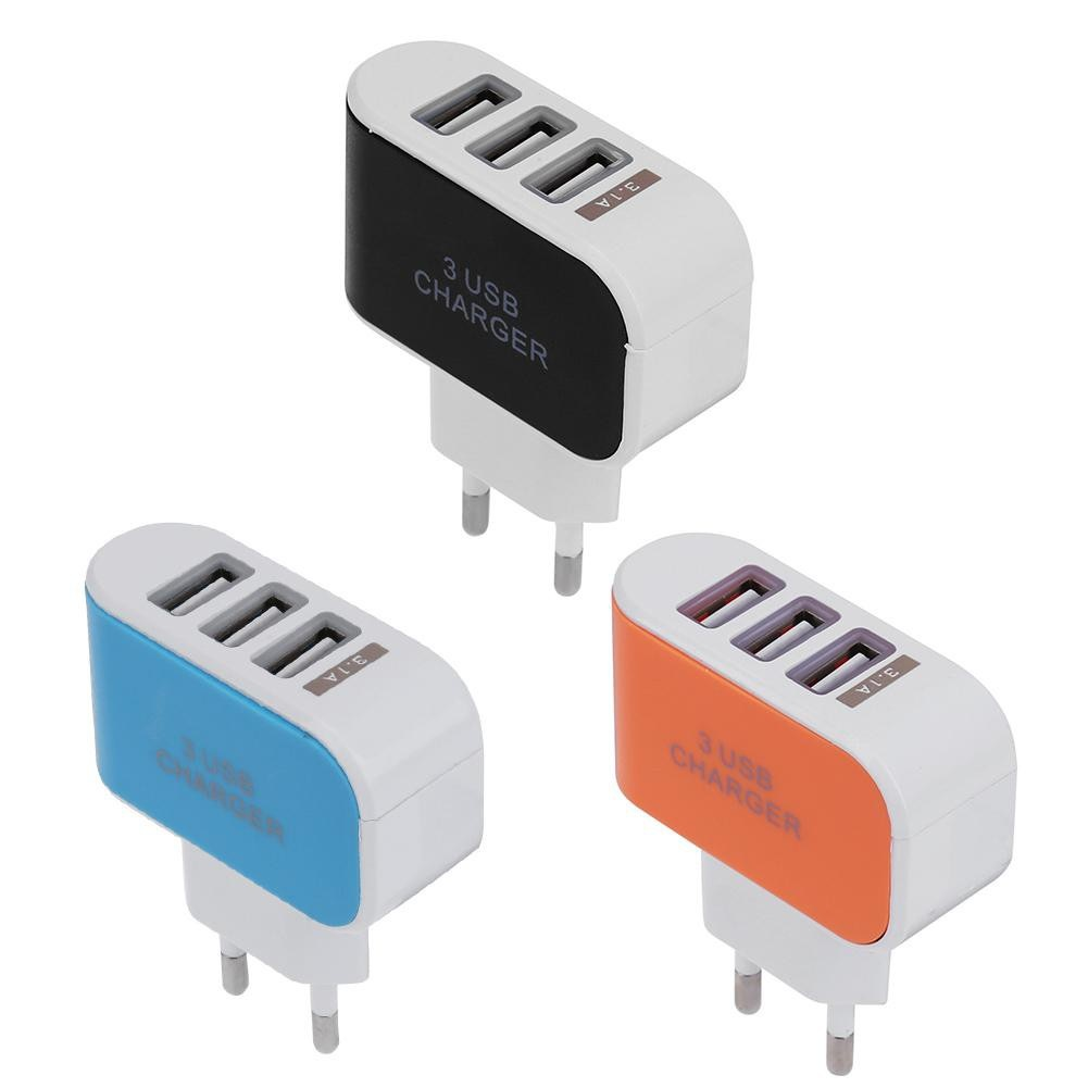 3 USB Ports Multi Power Adapter