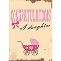 Congratulations a daughter