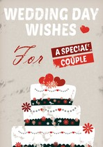 wedding day wishes for a special couple