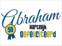 Abraham Hartelijk gefeliciteerd
