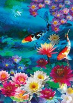 Koi in the Lilies