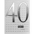 XL kaart - 40 Today