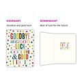 XL kaart: Goodbye & good luck