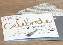 Celebrate it's your birthday