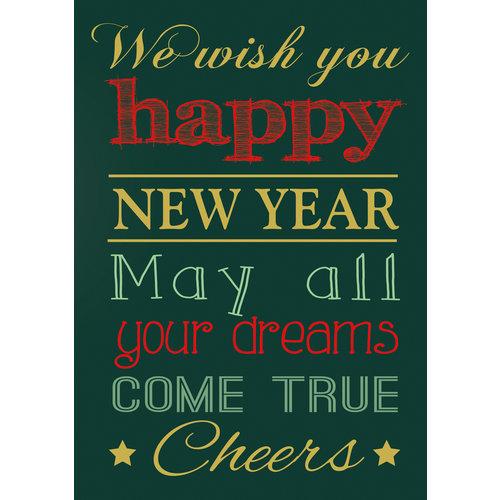 We wish you happy new year