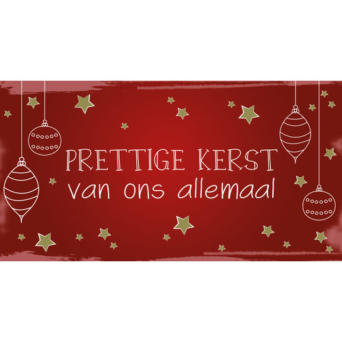 Prettige kerst van ons allemaal